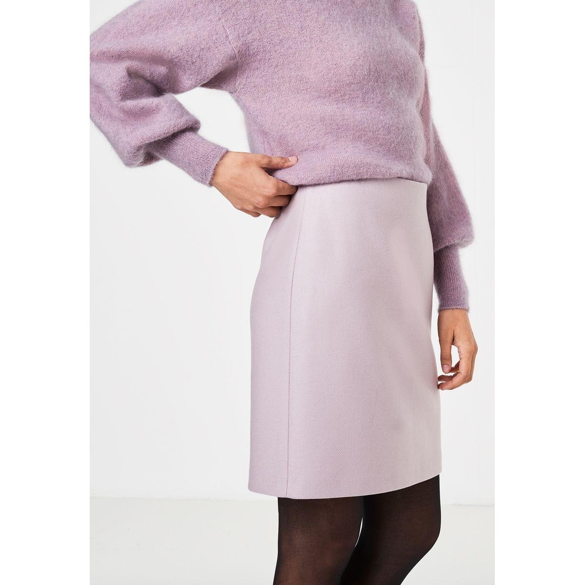 Mini-jupe à la coupe trapèze