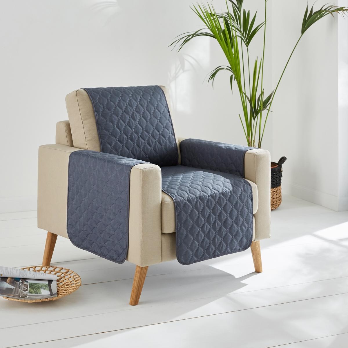 Чехол защитный для кресла или дивана, OraldaДвухцветный чехол защитный для кресла или дивана, микрофибра 100% полиэстера. Состав и описание :Материал : микрофибра 100% полиэстера (70 г/м?). Наполнитель100% полиэстера (150 г/м?).Отделка : Кант в 1 см.Уход: : Машинная стирка при 60 °CЗнак Oeko-Tex® гарантирует, что товары прошли проверку и были изготовлены без применения вредных для здоровья человека веществ.Наши чехлы для кресел и диванов ищите на нашем сайте laredoute.ru.ruРазмеры : Длина : 200 см.Ширина сиденья 1-мест. 50 см - 2-мест. 100 см - 3-мест. 150 см<br><br>Цвет: антрацит/светло-серый,серо-коричневый/ бежевый<br>Размер: 1 места