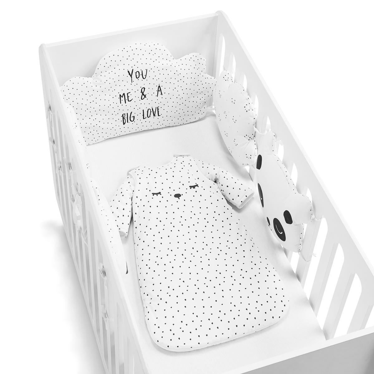 балдахины для кроваток Полог La Redoute С рисунком единый размер бежевый