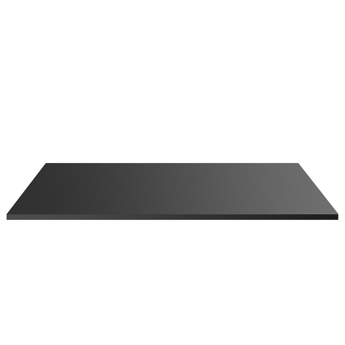 Столешница LaRedoute Для письменного стола из металла Angus размер 2 единый черный