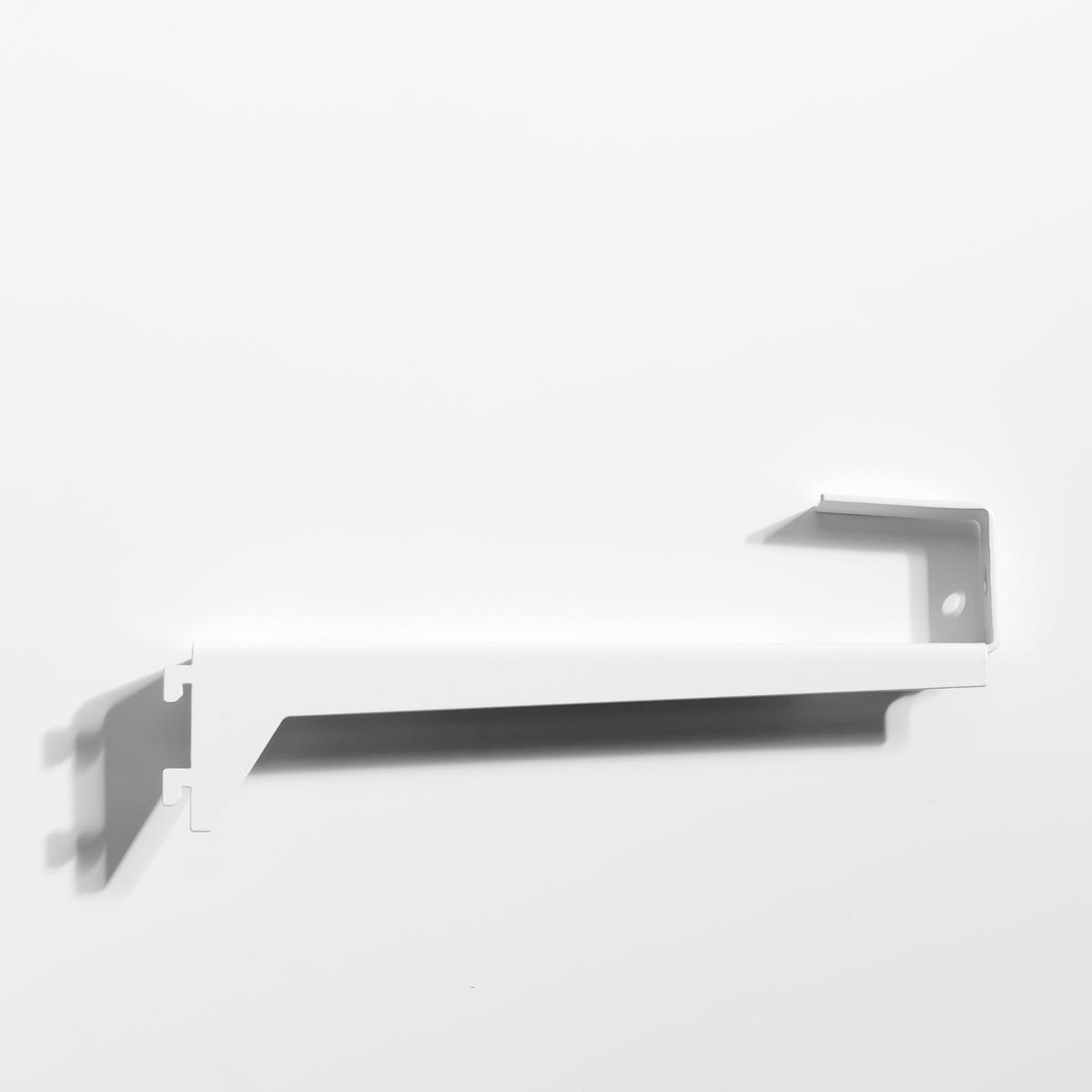Кронштейн угловой для этажерок Kyriel (2 шт)Размеры кронштейна : Длина 22 x Ширина 9 x толщина 2,5 см . Комплект из 2 штук.Мебель для гардероба Kyriel - это эстетичная и практичная система, модулируемая при желании, созданная для любых пространств и стилей  .<br><br>Цвет: белый