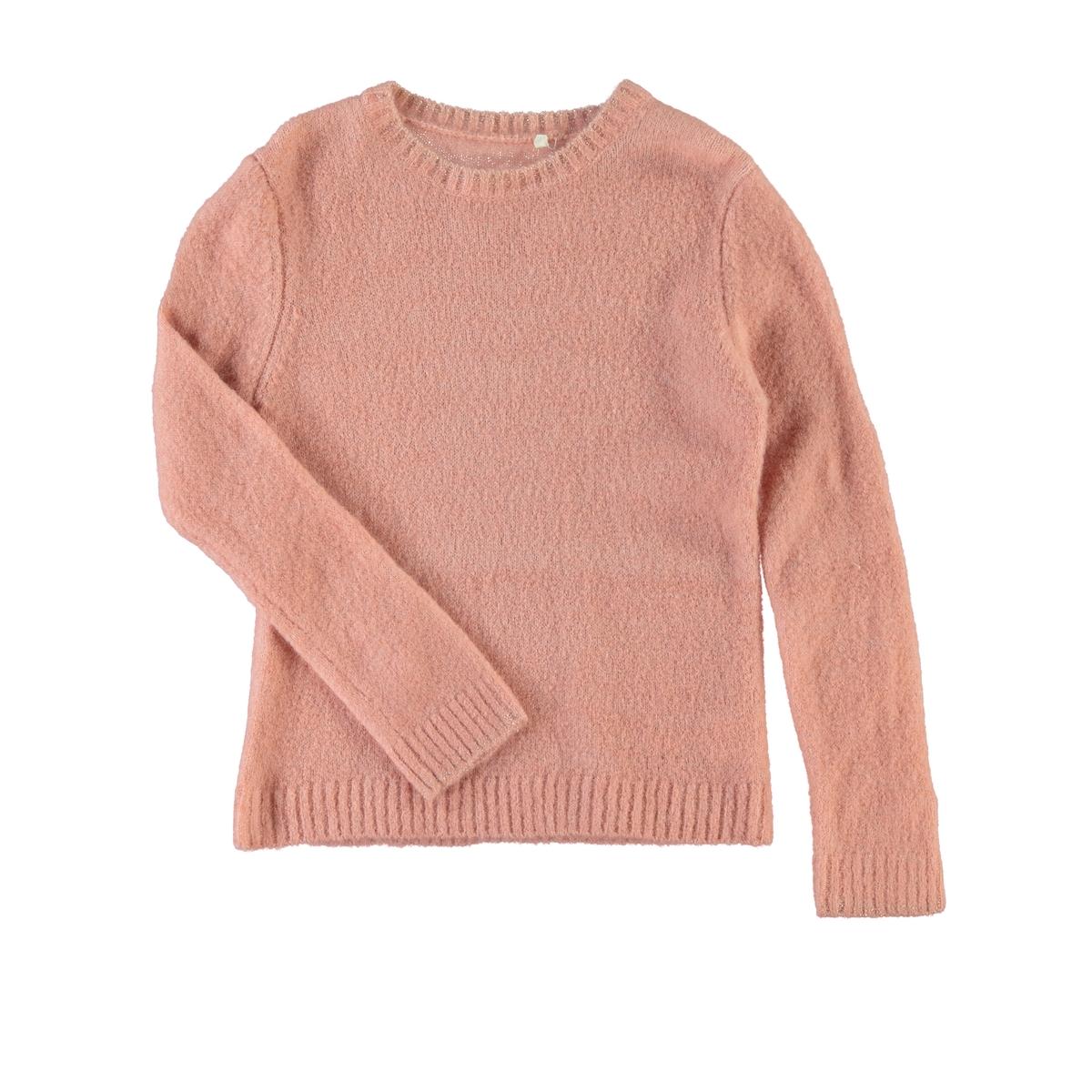 Пуловер длинный из тонкого трикотажа, 5 - 14 лет