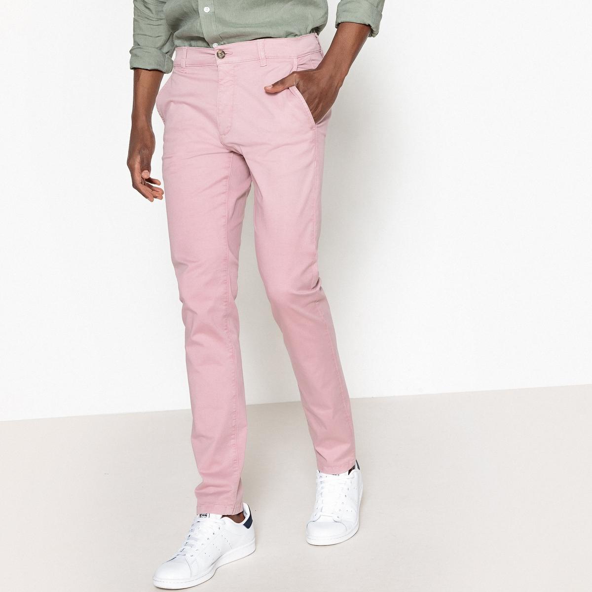 Брюки-чино La Redoute La Redoute 38 (FR) - 44 (RUS) розовый брюки чино la redoute la redoute 38 fr 44 rus синий