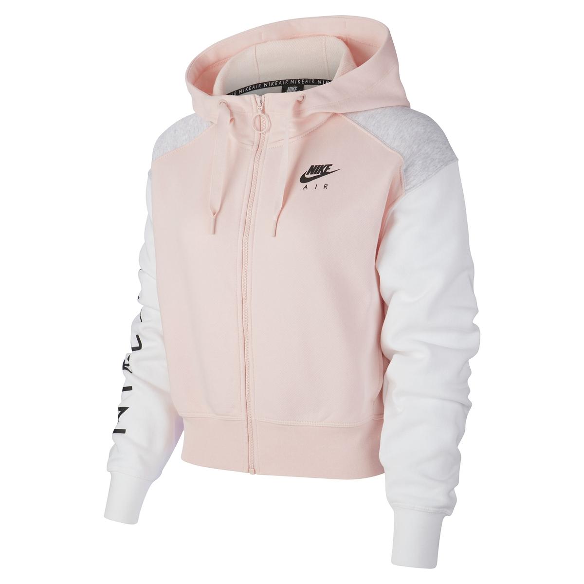 Sudadera con cuello alto y cremallera Nike Air Hoodie