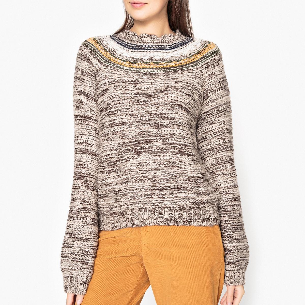 Пуловер с шарообразными рукавами MAYONESSA