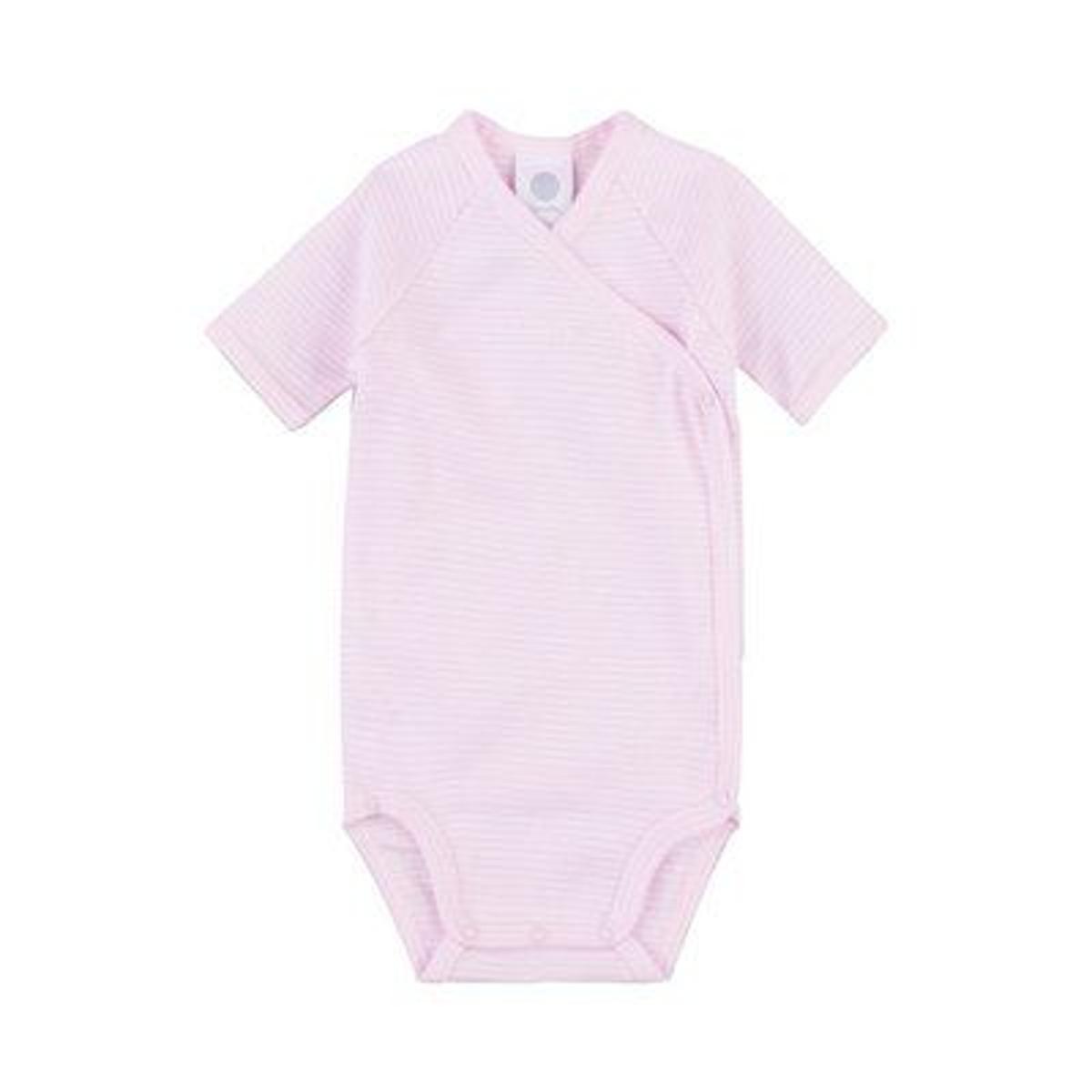 Sanetta Body portefeuille rayé à manches courtes bébé
