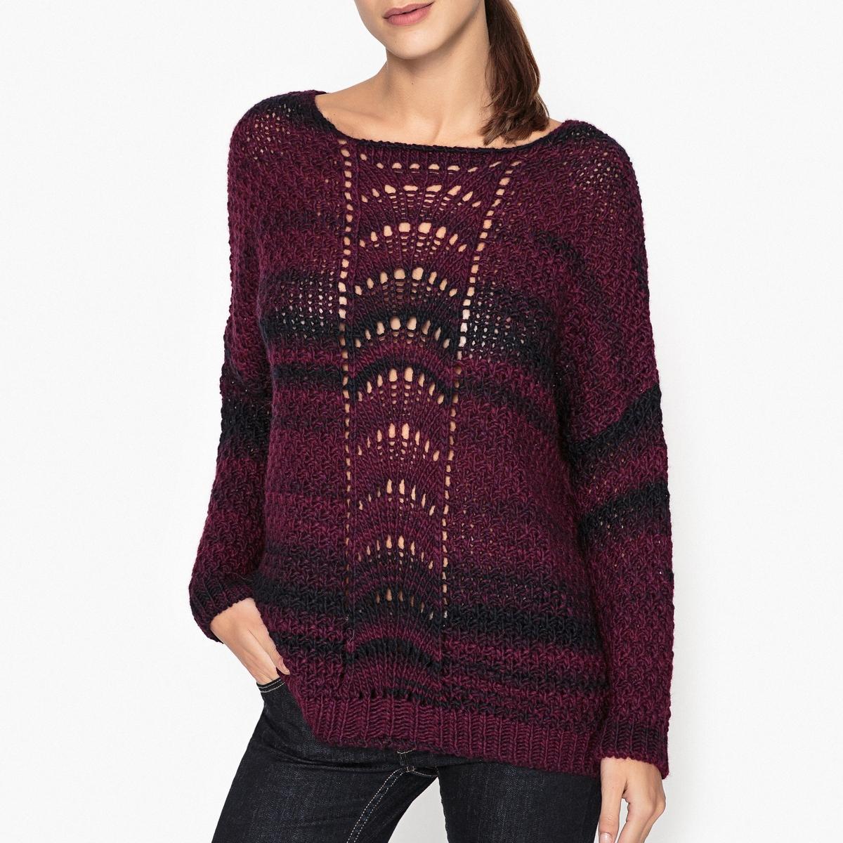 Пуловер из оригинального трикотажа LEON