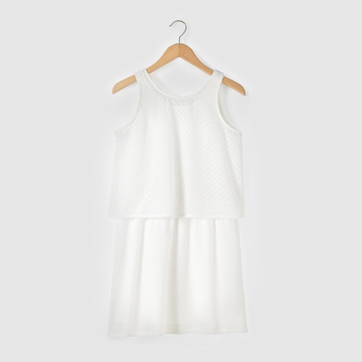 Платье с эффектом 2 в 1, 10-16 лет