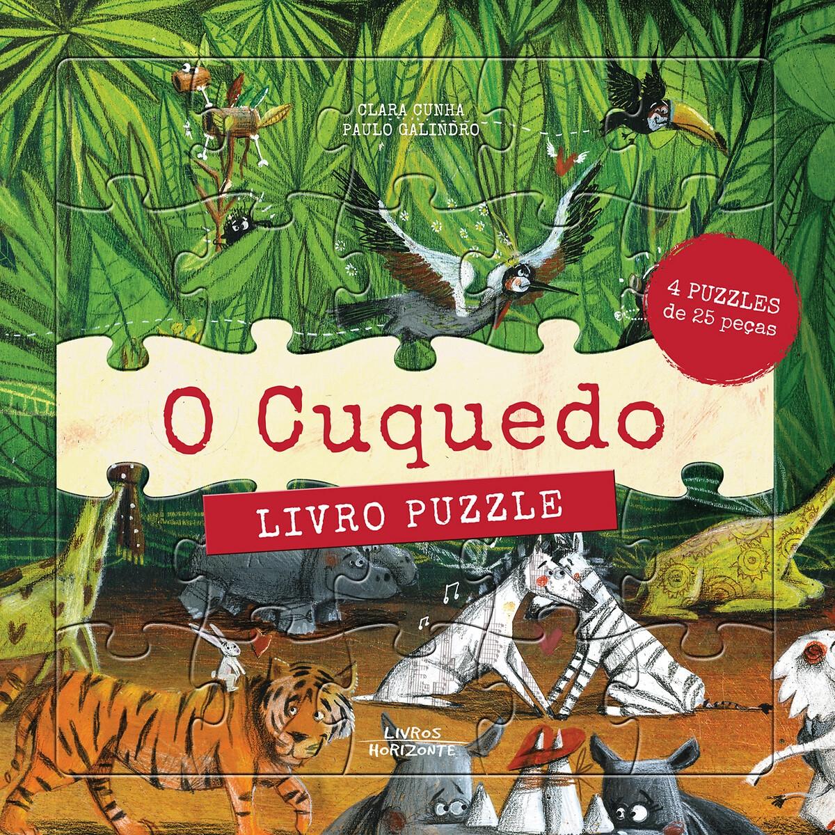LIVROS HORIZONTE - Livros Horizonte Livro O Cuquedo - Livro Puzzle