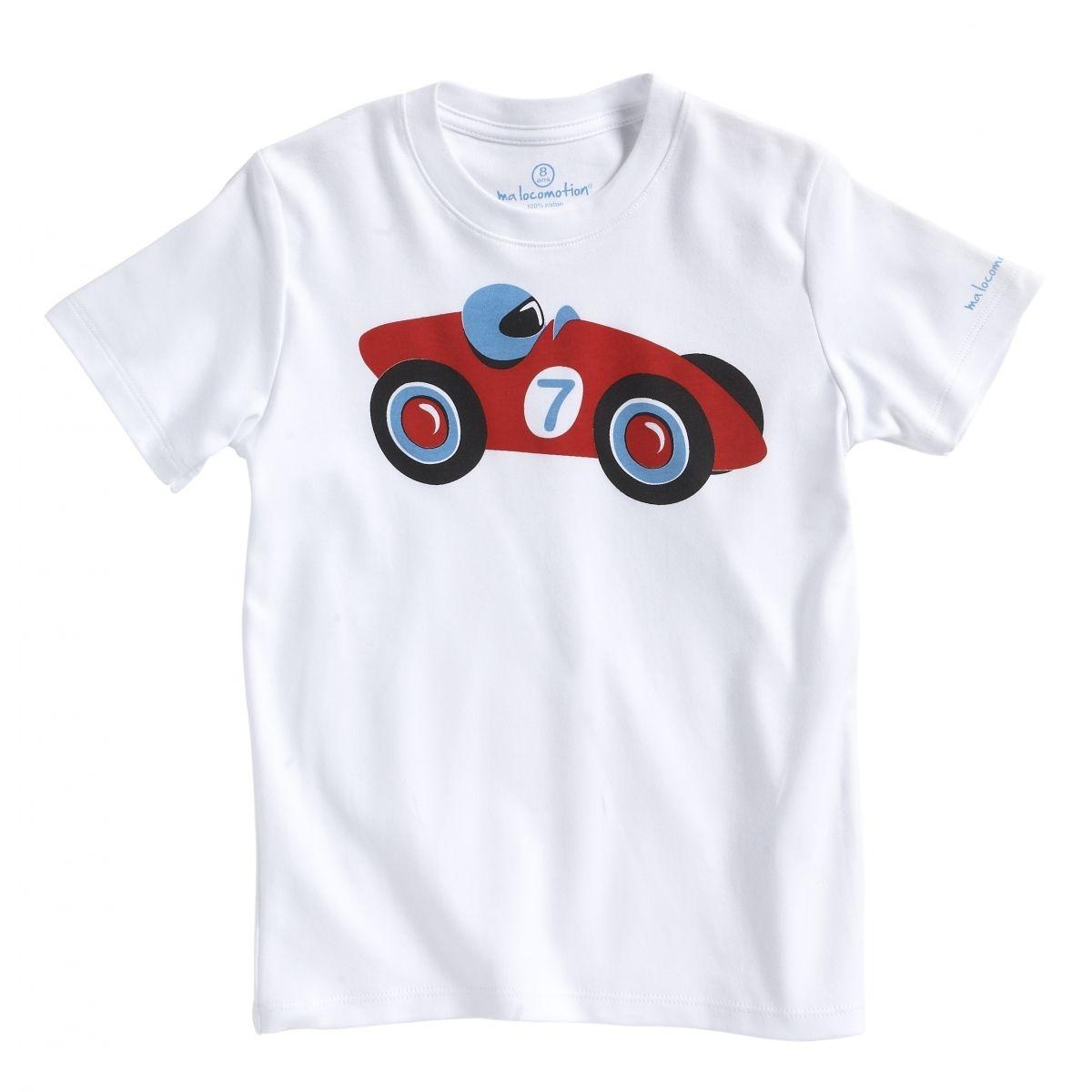 Le t-shirt rétro petit bolide