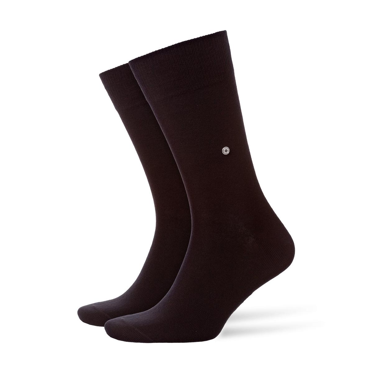 Комплект из 2 пар однотонных носков цена