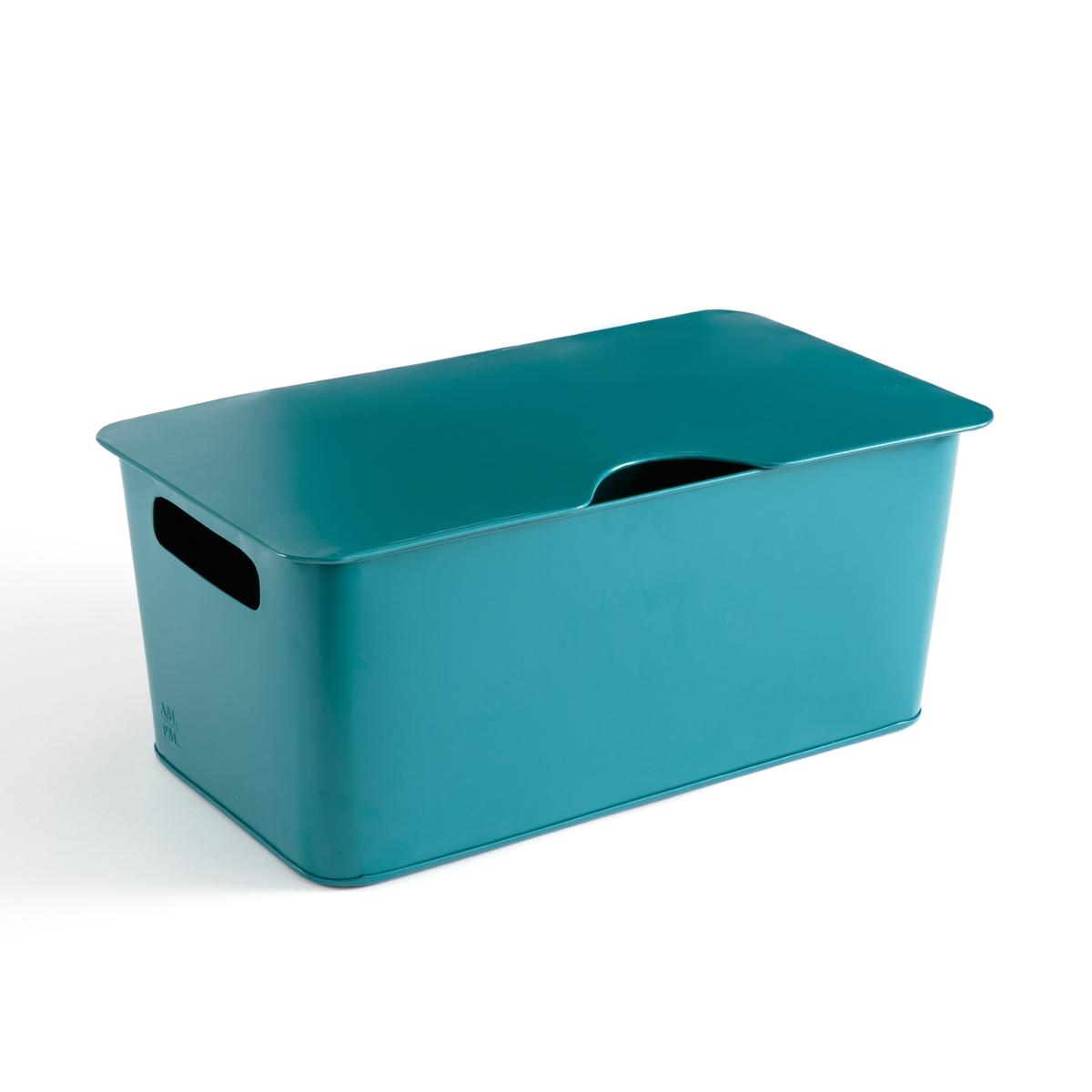 Ящик LaRedoute La Redoute единый размер синий пуф la redoute из шерсти carito единый размер серый