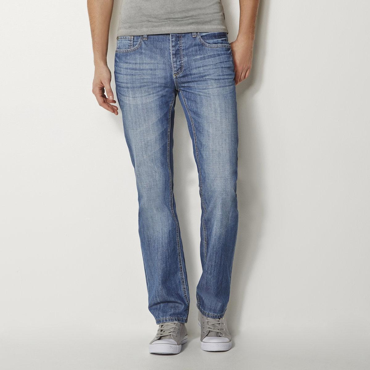 Jeans regular (direitos), comp. 32