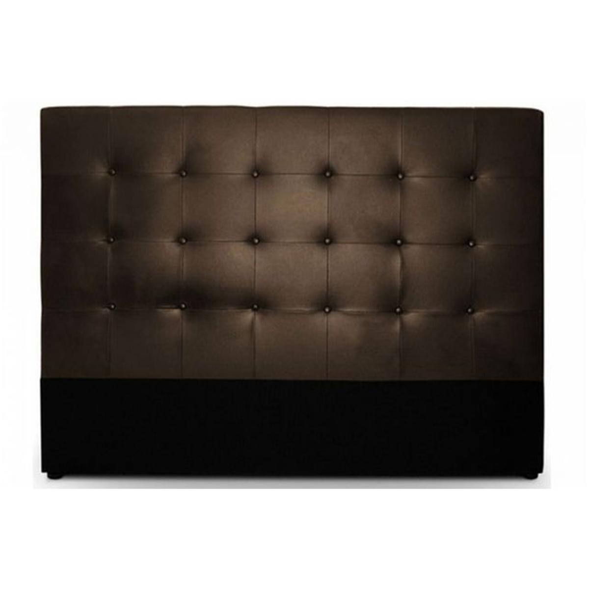 t te de lit capitonn e 140 cm cocoon blanche vendu par rueducommerce 405871. Black Bedroom Furniture Sets. Home Design Ideas