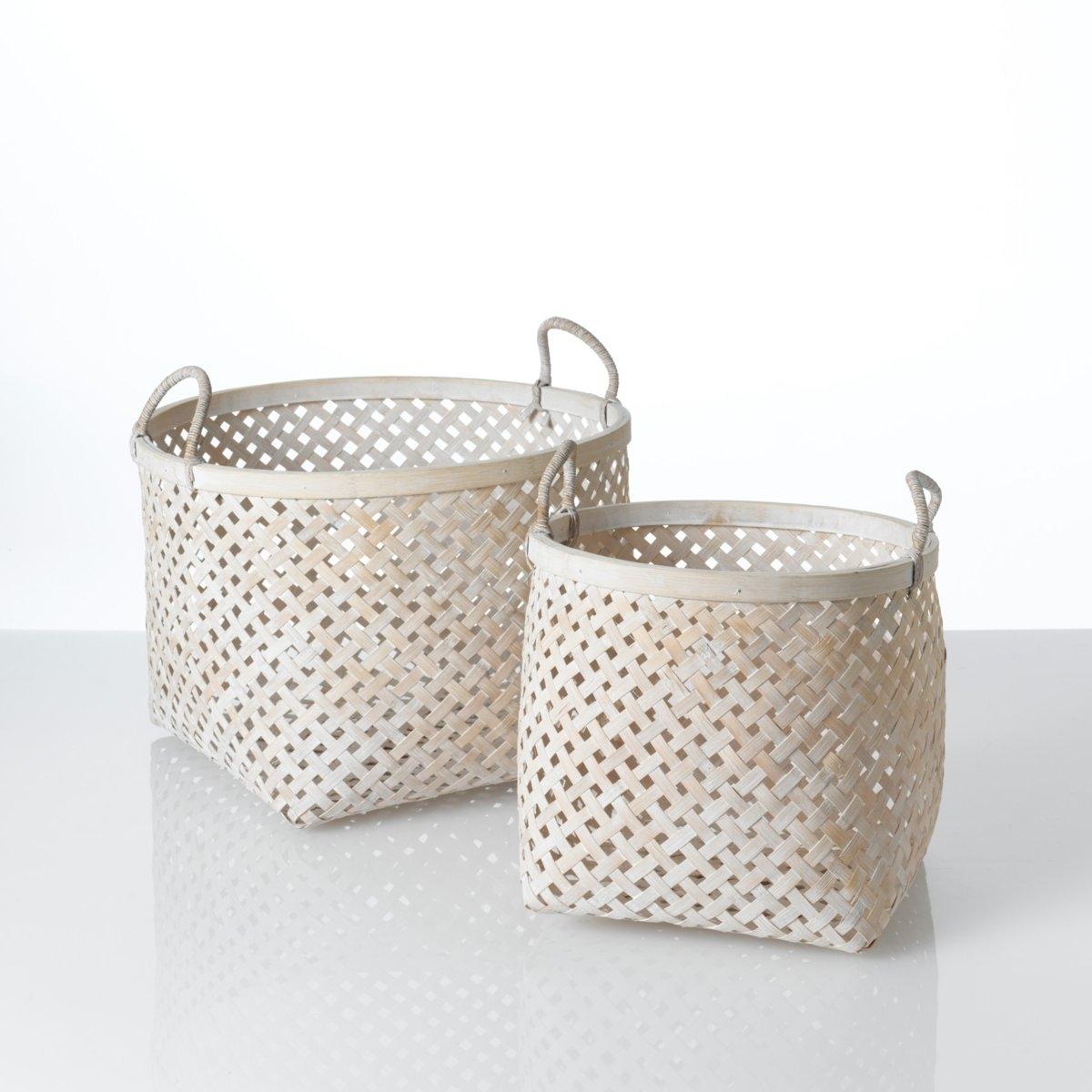 Комплект из 2 корзин Tigra от La Redoute