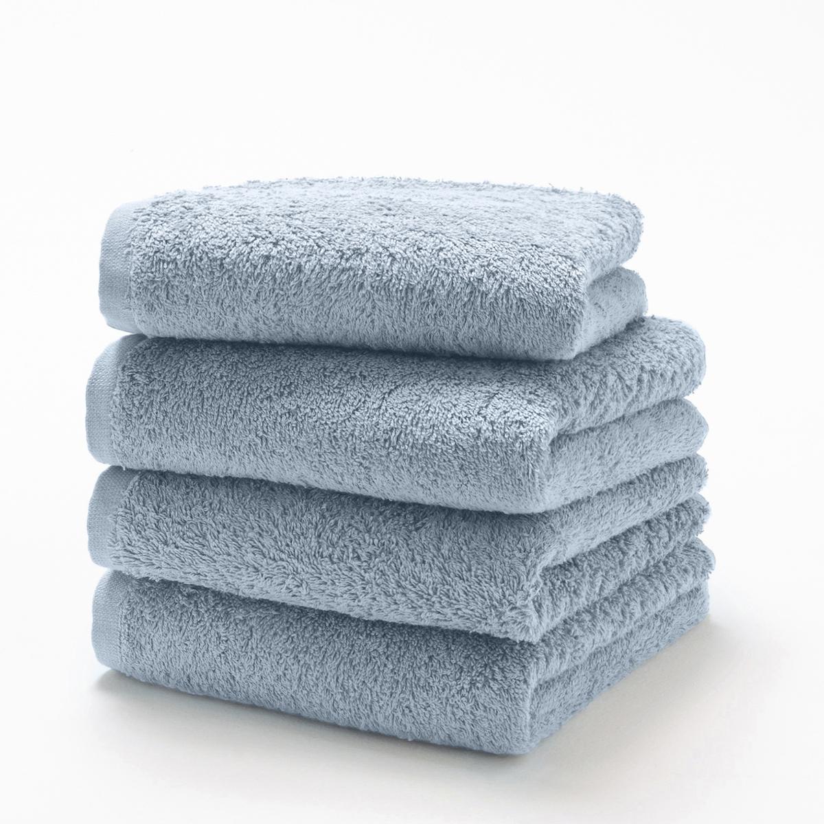 Комплект из 4 гостевых полотенец 500 г/м?Комплект из 4 гостевых полотенец из махровой ткани, 100% хлопок (500 г/м?), невероятно нежной, мягкой и отлично впитывающей влагу.Полотенца разных цветов для ванной...Характеристики 4 однотонных гостевых полотенец :- Махровая ткань, 100% хлопок (500 г/м?).- Отделка краев диагонали.- Машинная стирка при 60 °С.- Машинная сушка.- Замечательная износоустойчивость, сохраняет мягкость и яркость окраски после многочисленных стирок.- Размеры полотенца : 40 x 40 см.- В комплекте 4 полотенца. Знак Oeko-Tex® гарантирует, что товары протестированы и сертифицированы, не содержат вредных веществ, которые могли бы нанести вред здоровью.<br><br>Цвет: белый,голубой бирюзовый,желтый шафран,зеленый  атолл,красный карминный,светло-розовый,серо-бежевый,серо-синий,серый,сине-зеленый,синий морской волны,темно-серый,фиолетовый,черный<br>Размер: 40 x 40  см.40 x 40  см.40 x 40  см.40 x 40  см.40 x 40  см.40 x 40  см.40 x 40  см