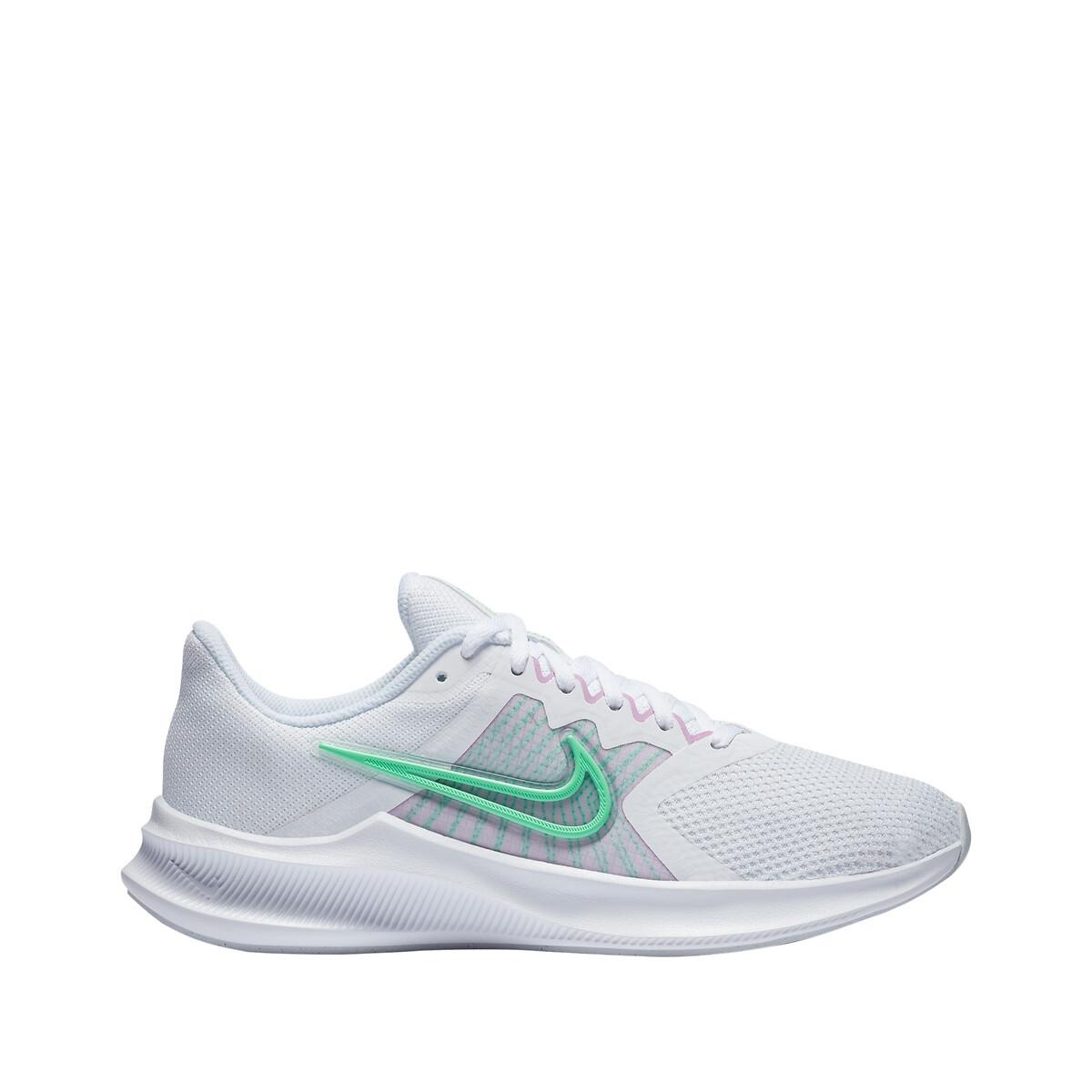 Nike Downshifter 11 Dames White/Infinite Lilac/Violet Shock/Green Glow Dames online kopen