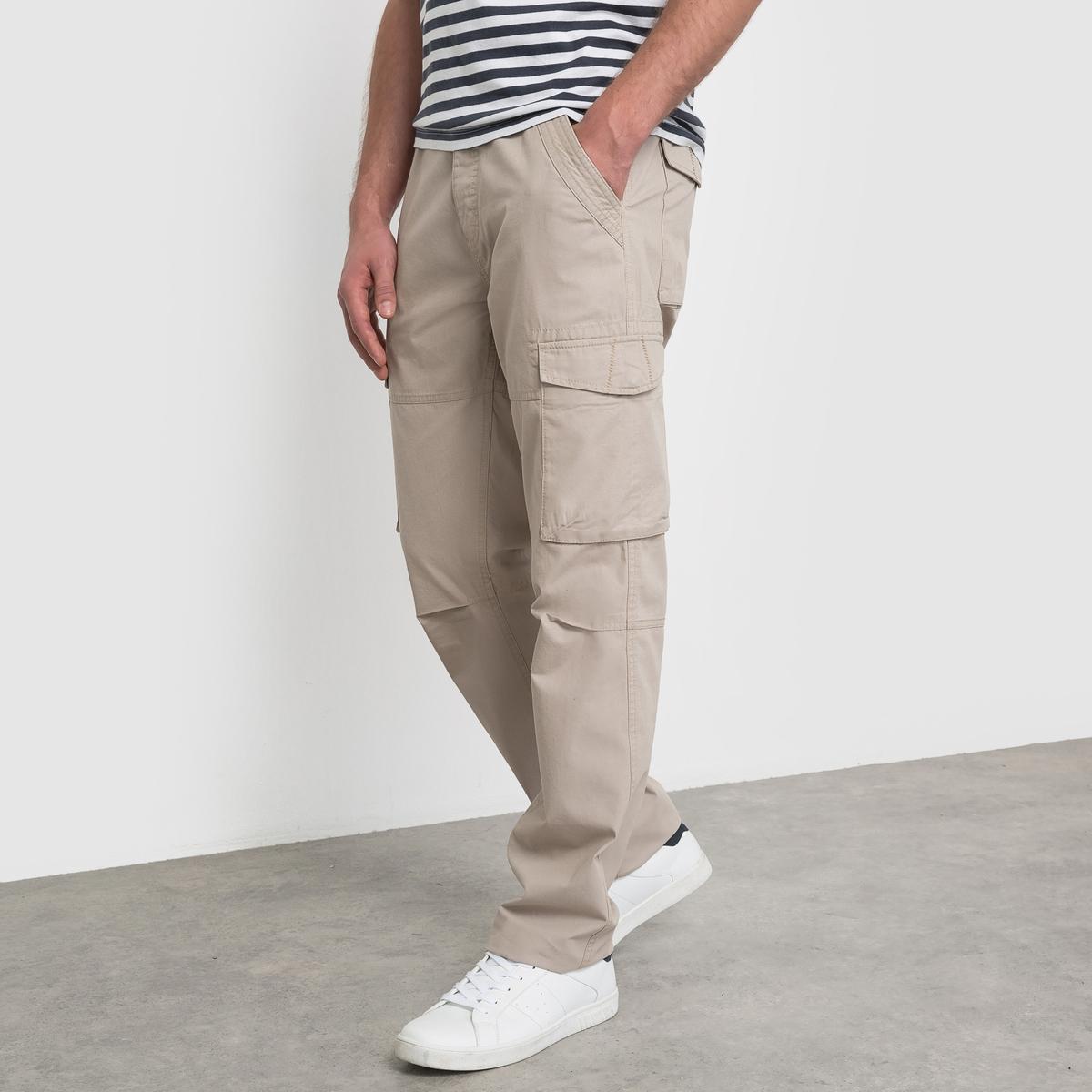 Pantaloni cargo AUBIN puro cotone