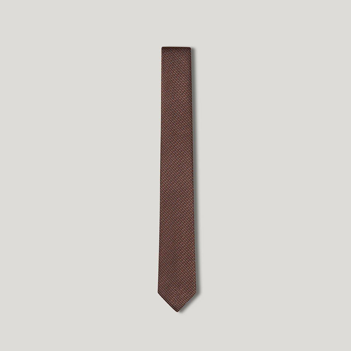 Cravate micro motifs
