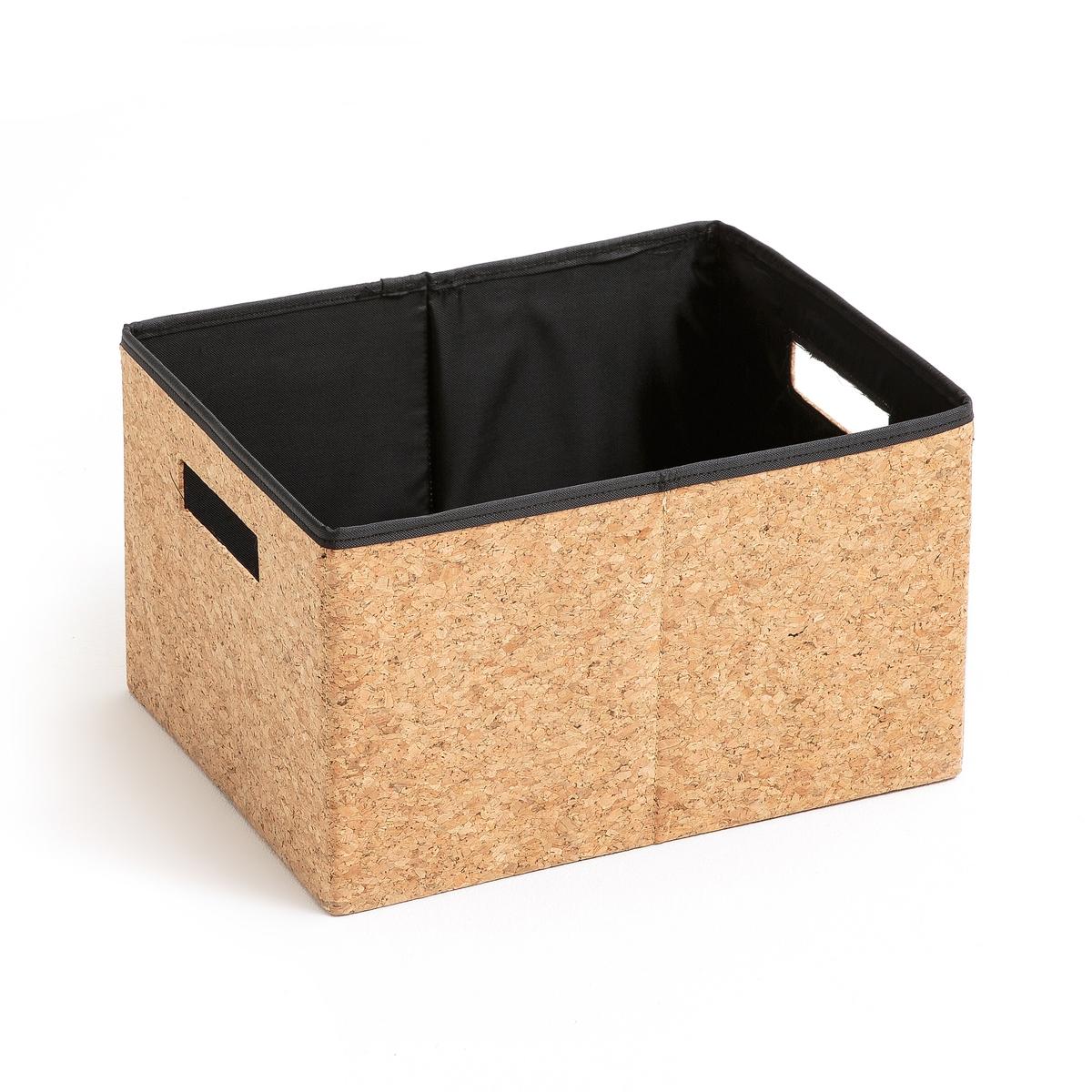 Коробка для хранения из пробки, размер SОписание:Коробка из пробки складная . Из натурального материала, в ней можно хранить ваши книги, платки или любой другой аксессуар .Описание коробки : Из пробки Прямоугольная формаСкладная 2 ручки.Каркас из картона Вшитая подкладка из полиэстера Съемной дно Размеры :H20 x 35 x 25 смРасцветка : Натуральная Размеры и вес упаковки :37 x 6,5 x 27 см1,2 кг<br><br>Цвет: серо-бежевый