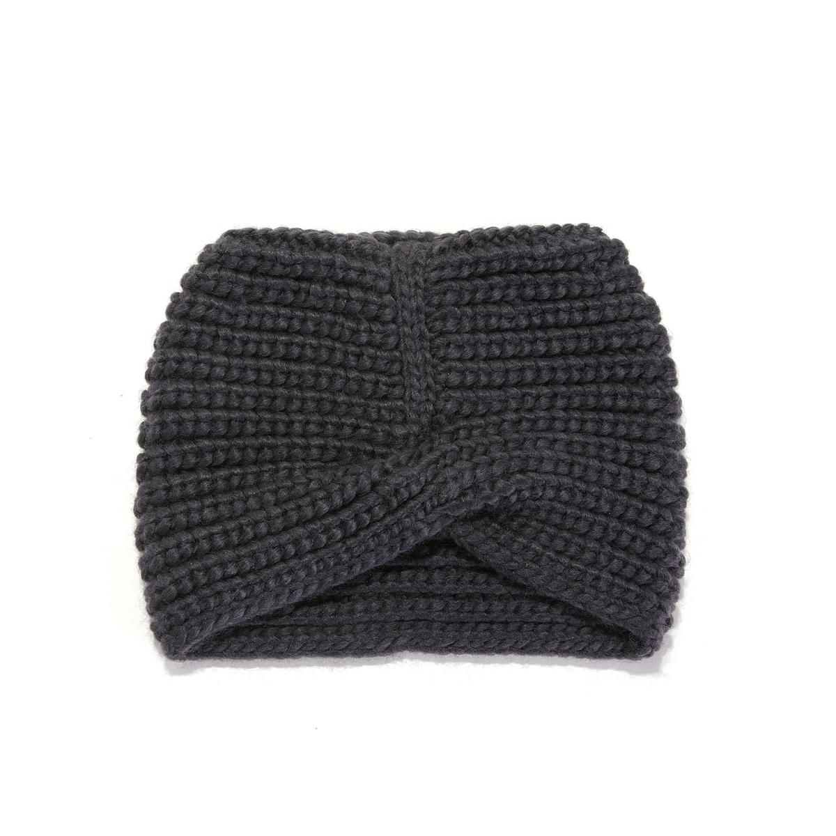 Шапочка плетеная спереди для девочек
