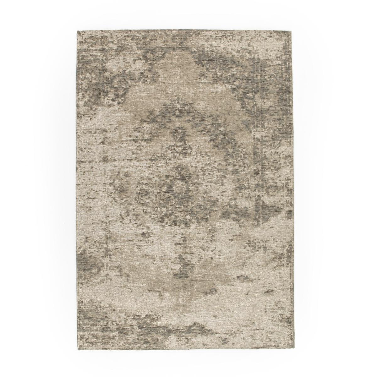 Ковер La Redoute Медальон с потертым эффектом IZOE 120 x 170 см серый