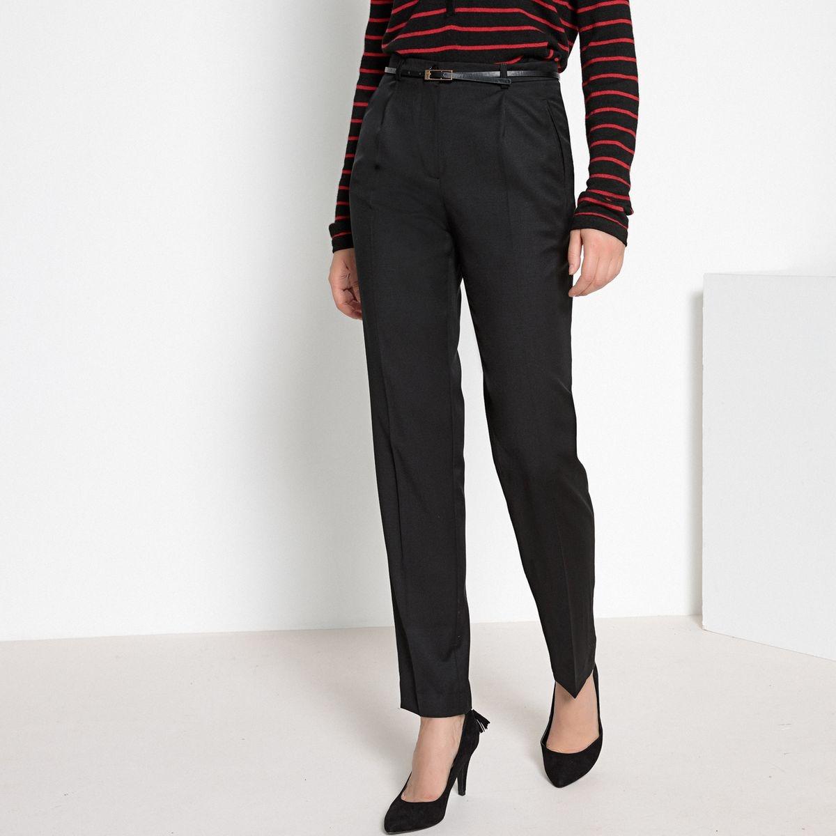 c9114e126a57e 5,95 €. Pantalon droit fuselé 98 laine