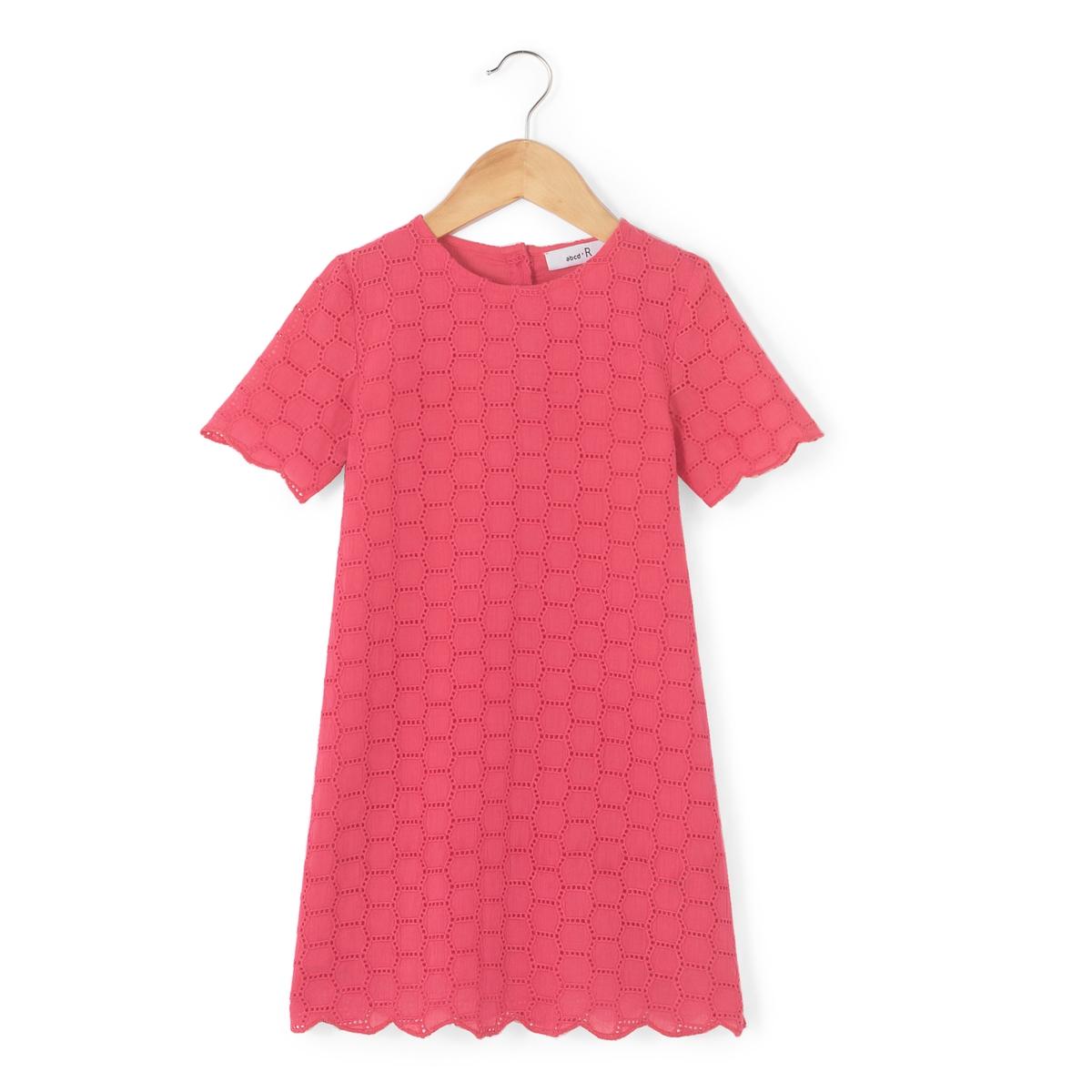 Платье с английской вышивкой, 3-12 лет
