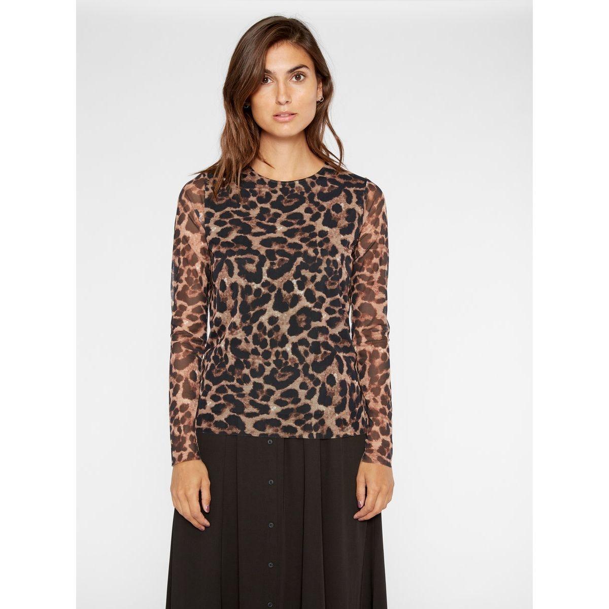 Tshirt à manches longues leopard
