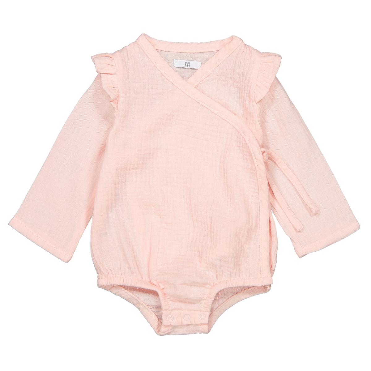 Комбинезон La Redoute Для малышей мес - года 2 года - 86 см розовый костюм la redoute купальный детский в полоску из махровой ткани мес года 2 года 86 см зеленый