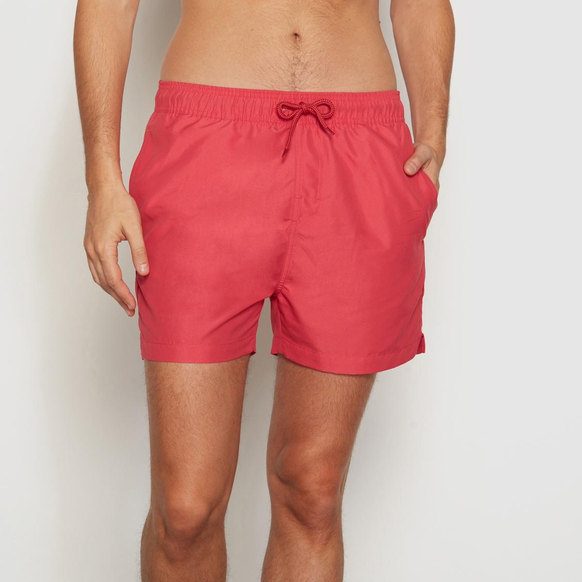 шорты со складками Шорты-боксеры LaRedoute La Redoute M красный