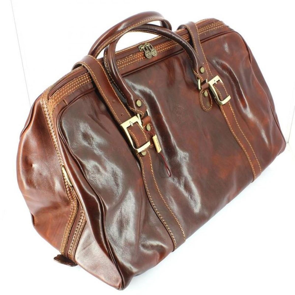 Caracalla, sac week end marron clair, chestnut