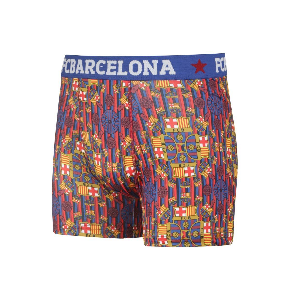 Boxer FC Barcelone Logo Mandalas Bleu/Rouge Junior