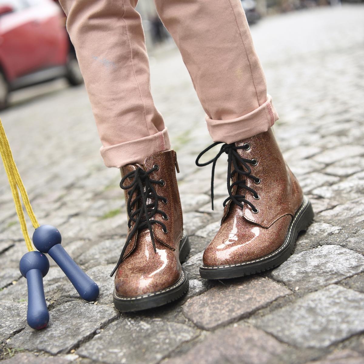 Ботинки с блёстками 26-39 ботинки на липучках 26 39