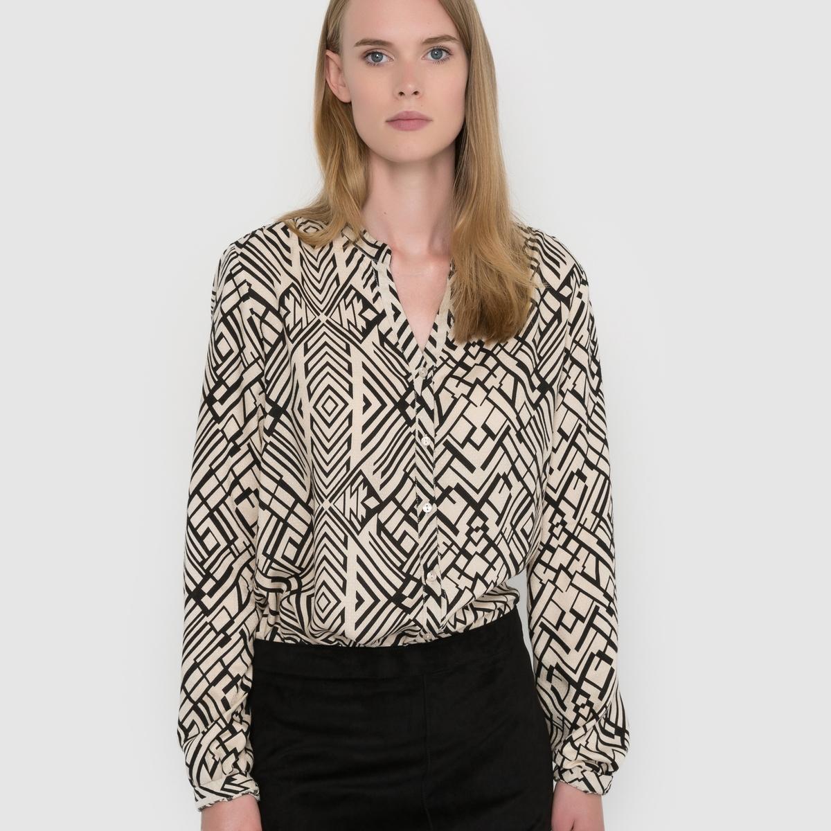Блузка с рисунком Vidaniel