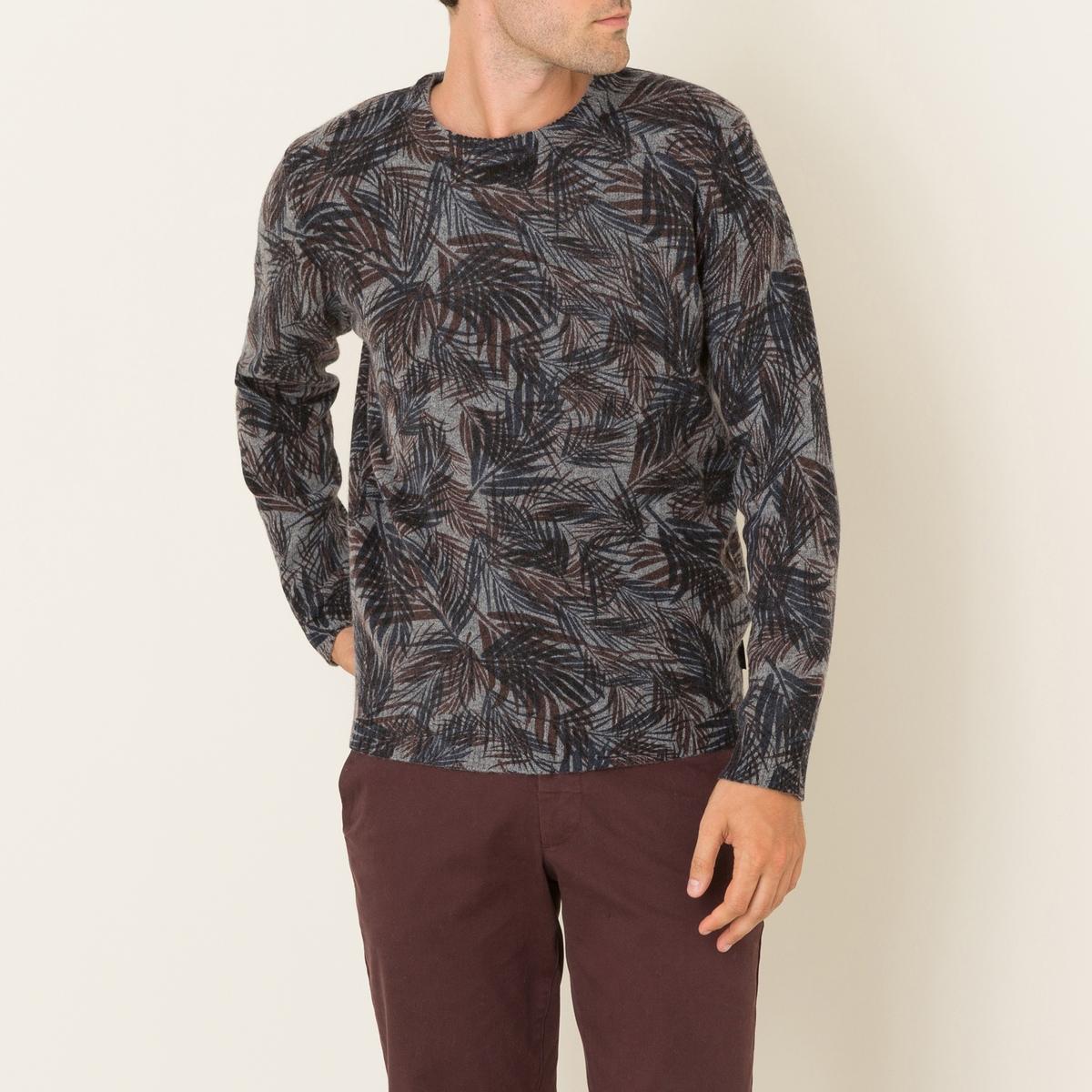 Пуловер SHOGUNПуловер HARRIS WILSON - модель SHOGUN. Сплошной рисунок. Круглый вырез. Длинные рукава. Края выреза, рукавов и низа связаны в рубчик. Состав и описание Материал : 100% овечья шерсть lambswoolМарка : HARRIS WILSON<br><br>Цвет: серый