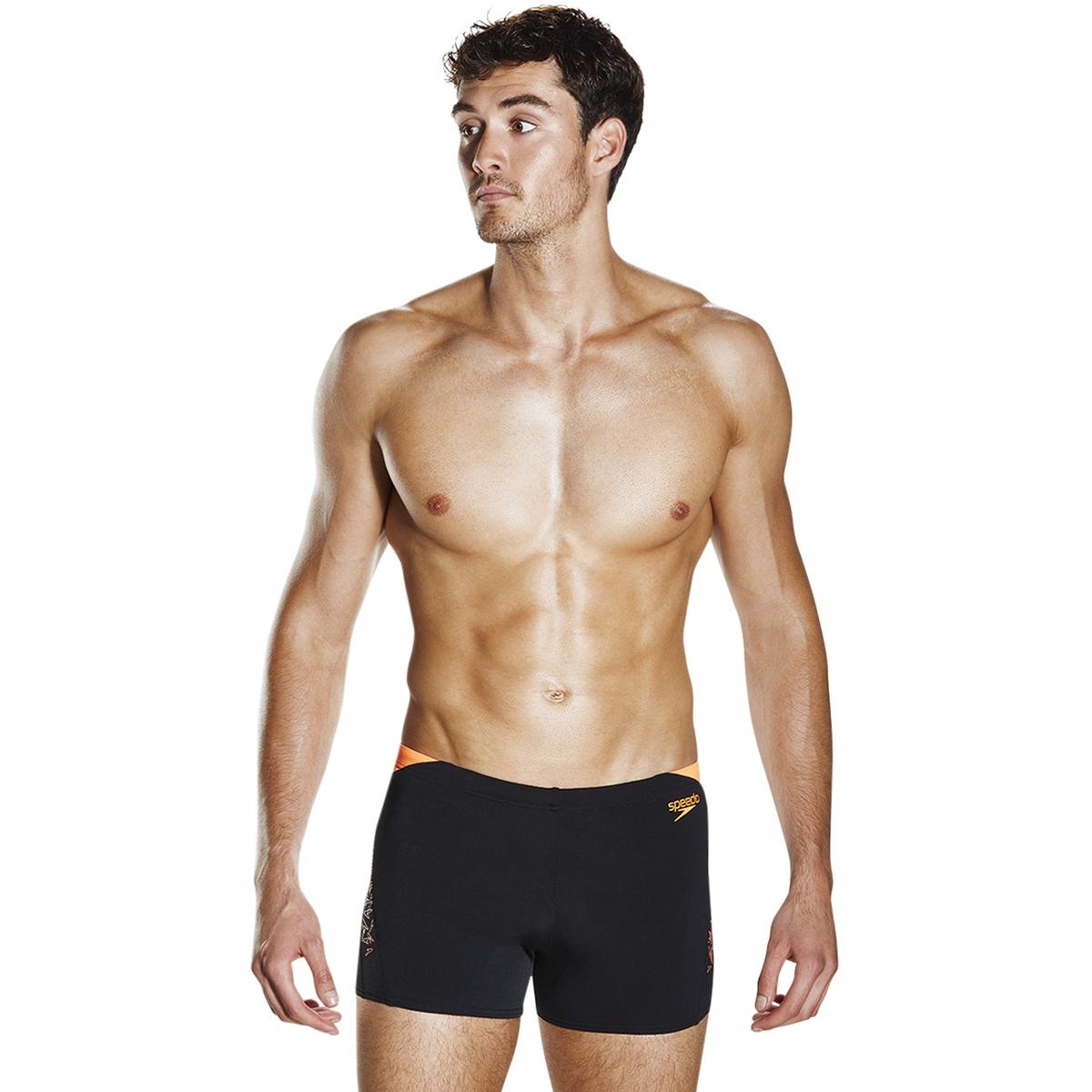 Badeshorts| Endurance®+ Technologie| bedruckt | Bekleidung > Bademode > Badeshorts | Schwarz | Polyester | SPEEDO