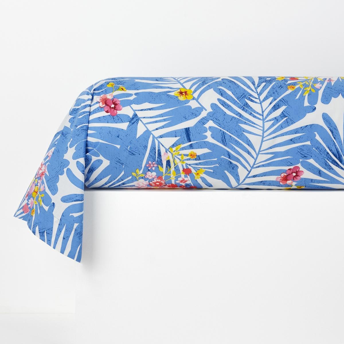 Наволочка на подушку-валик с рисунком, AlazeiaХарактеристики наволочки на подушку-валик :100% хлопка, 57 нитей/см2Чем больше нитей/см2, тем выше качество ткани.Машинная стирка при 60 °С.Форма мешка.Размеры наволочки на подушку-валик :85 x 185 см Знак Oeko-Tex® гарантирует, что товары прошли проверку и были изготовлены без применения вредных для здоровья человека веществ.Уход :Следуйте рекомендациям по уходу, указанным на этикетке изделия.<br><br>Цвет: рисунок синий/белый