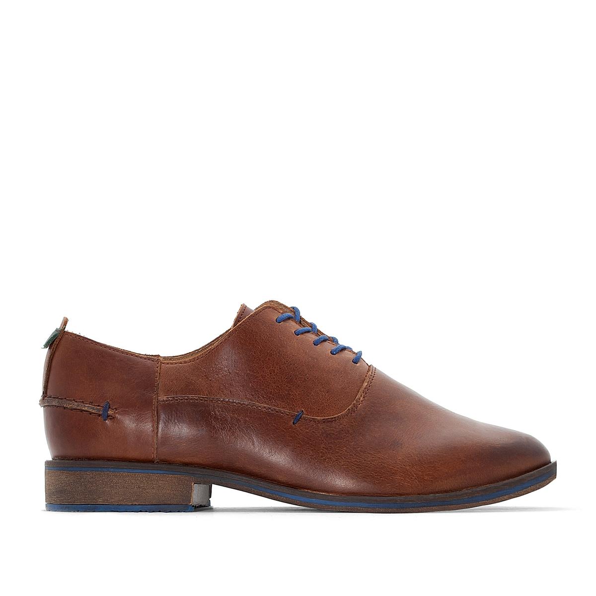 Ботинки-дерби кожаные DARUBB ботинки дерби под кожу питона