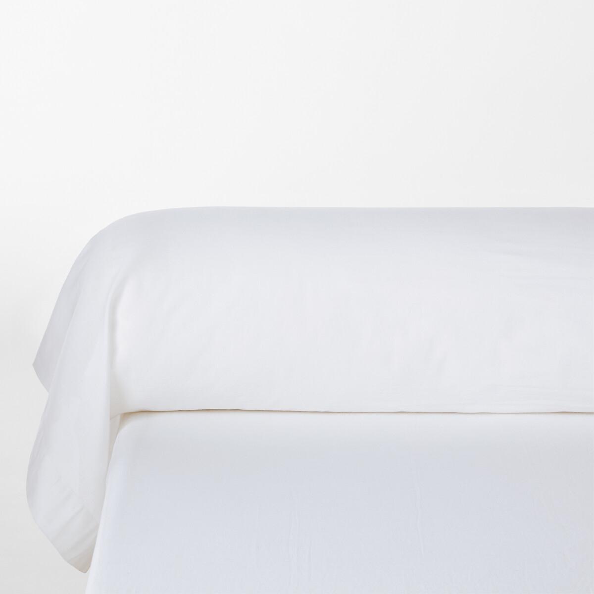 Наволочка La Redoute На подушку-валик Elvira 85 x 185 см белый чехол la redoute на подушку валик ecaille 45 x 45 см синий