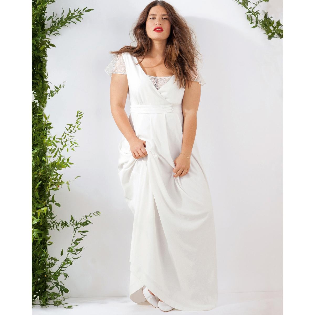 Длинное свадебное платье свадебное платье prettycolor bridal 0331