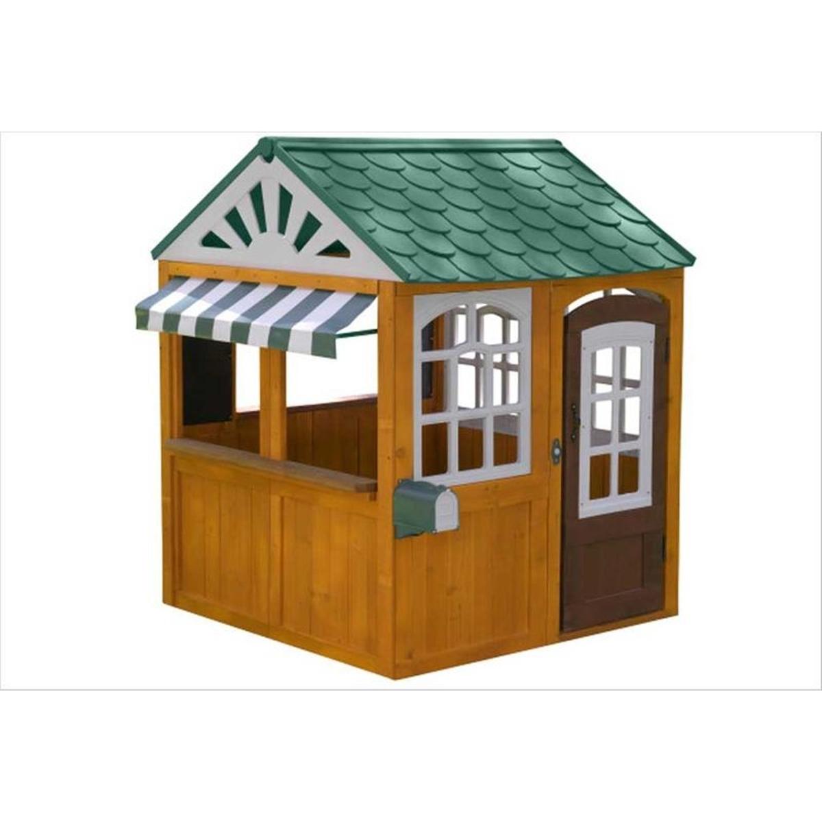Cabane pour enfants en bois Garden View