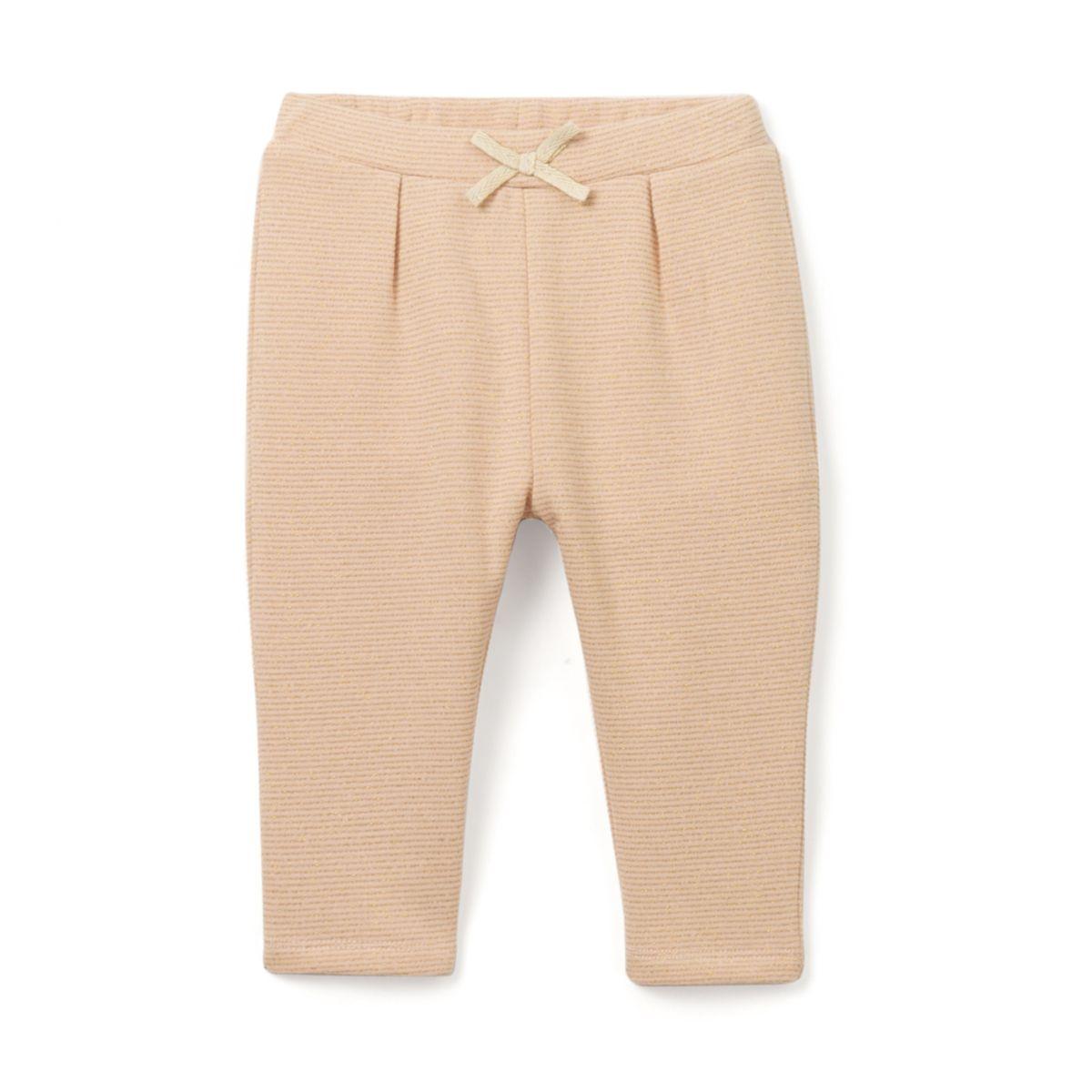 Pantalon molleton brillant 1 mois - 3 ans Oeko Tex