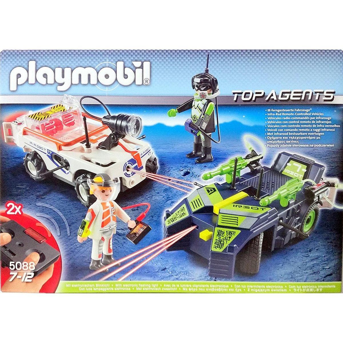PLAYMOBIL 5088 Top Agents - IR Future Cars