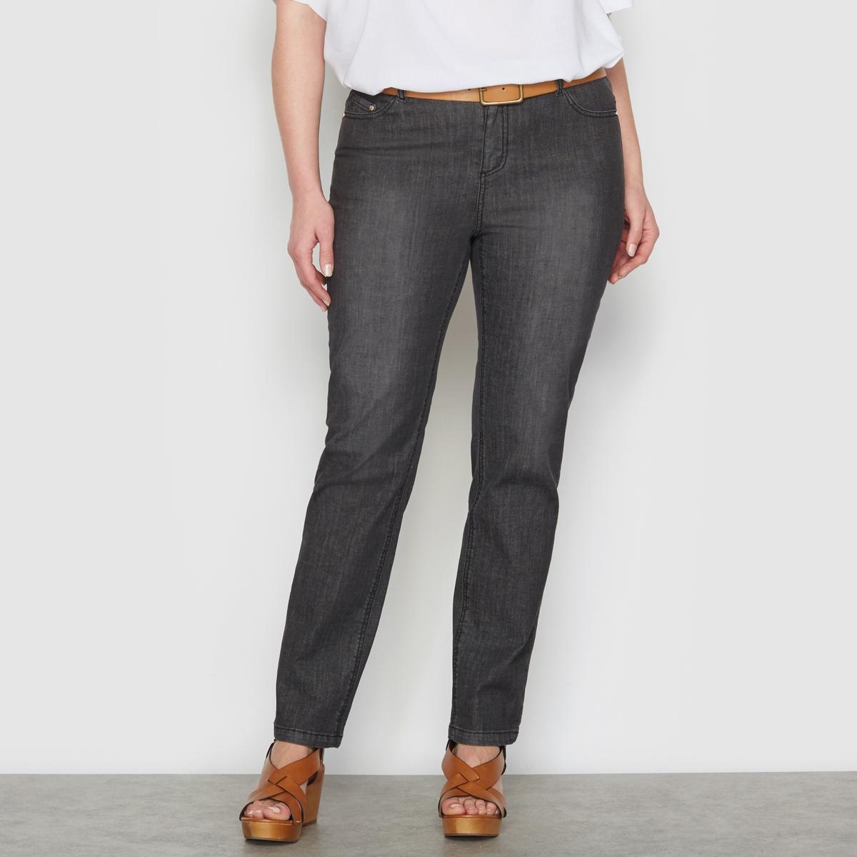 Jeans direitos stretch