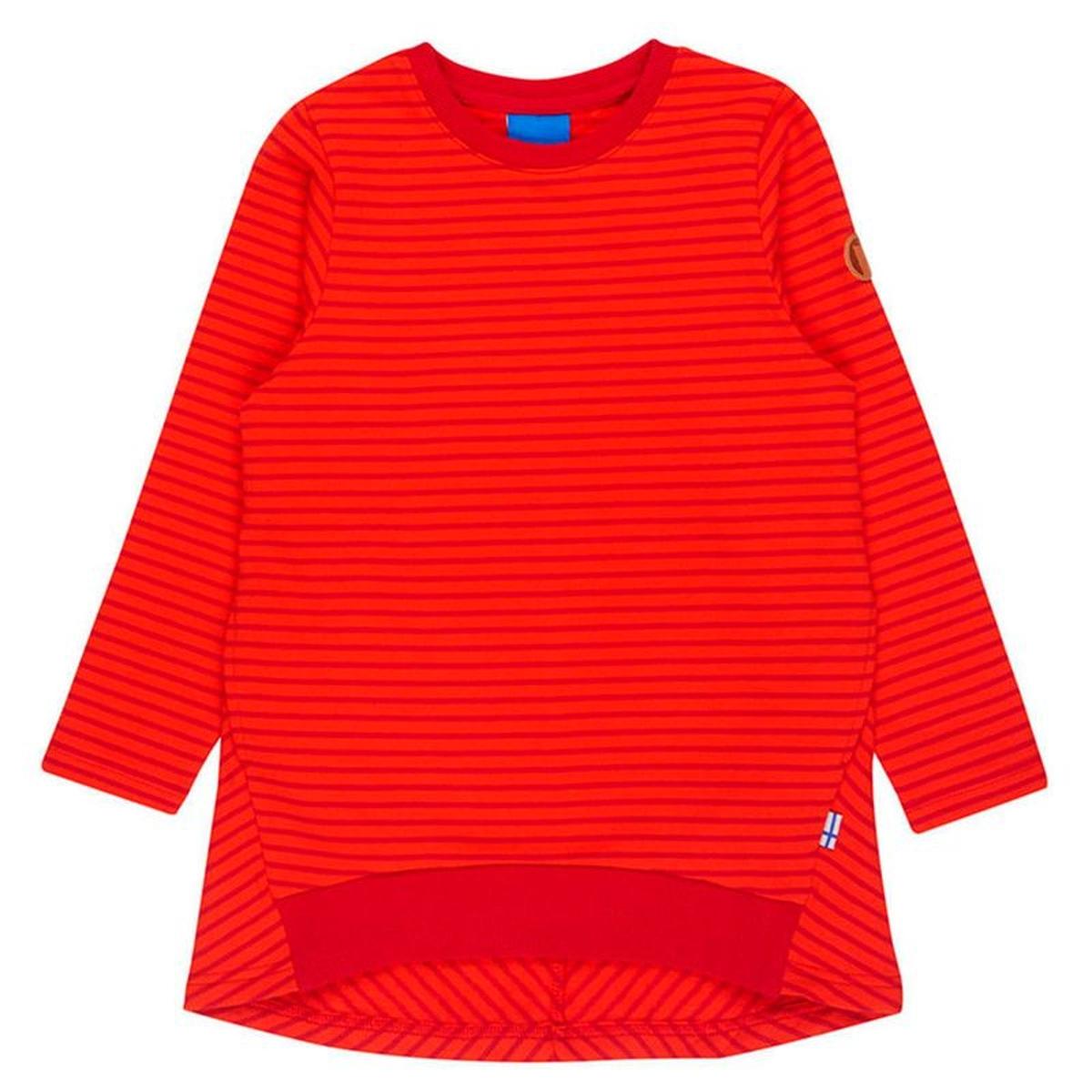 Lumikki - T-shirt manches longues Enfant - rouge