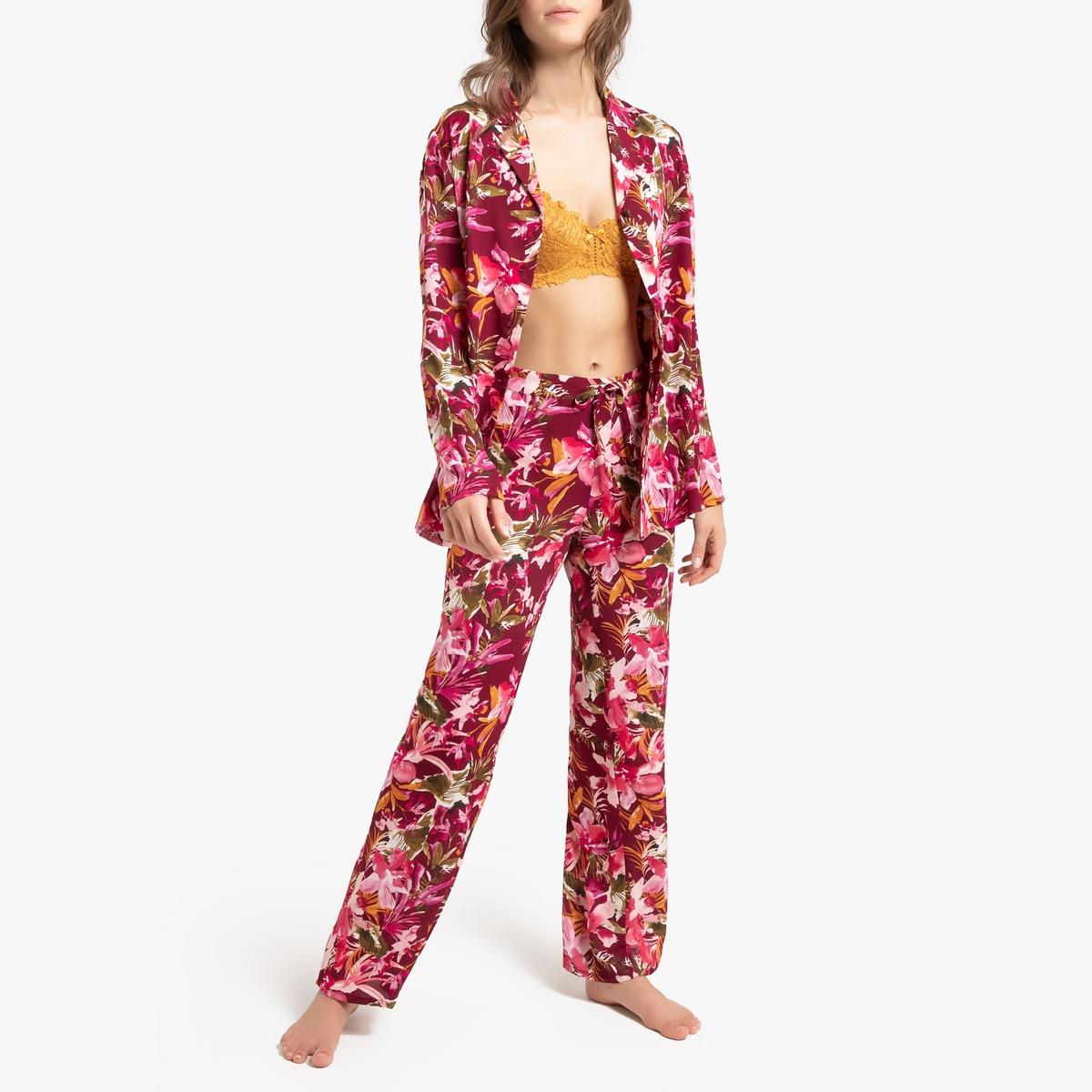 Pijama estampado de manga larga