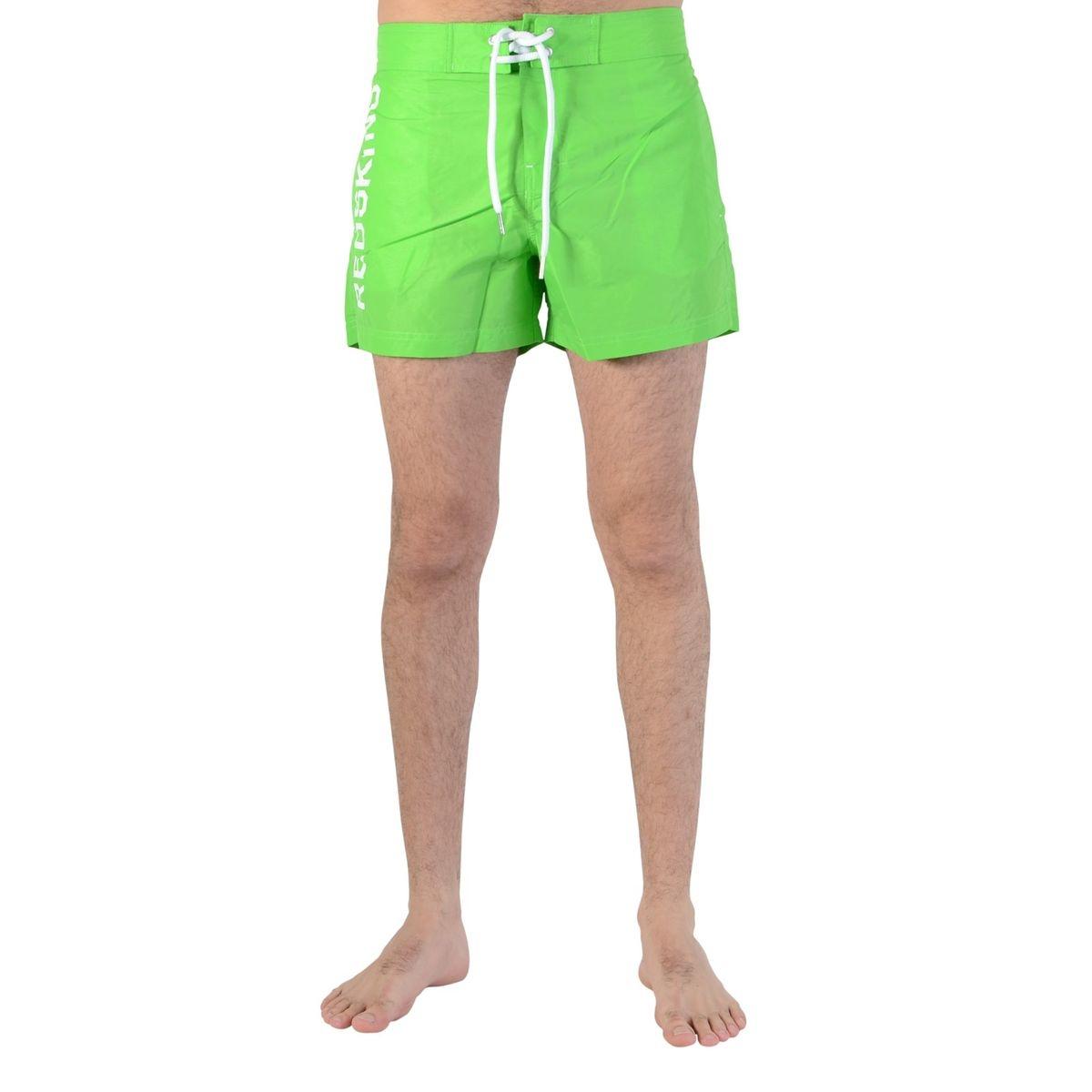 Short De Bain Red 03 Green