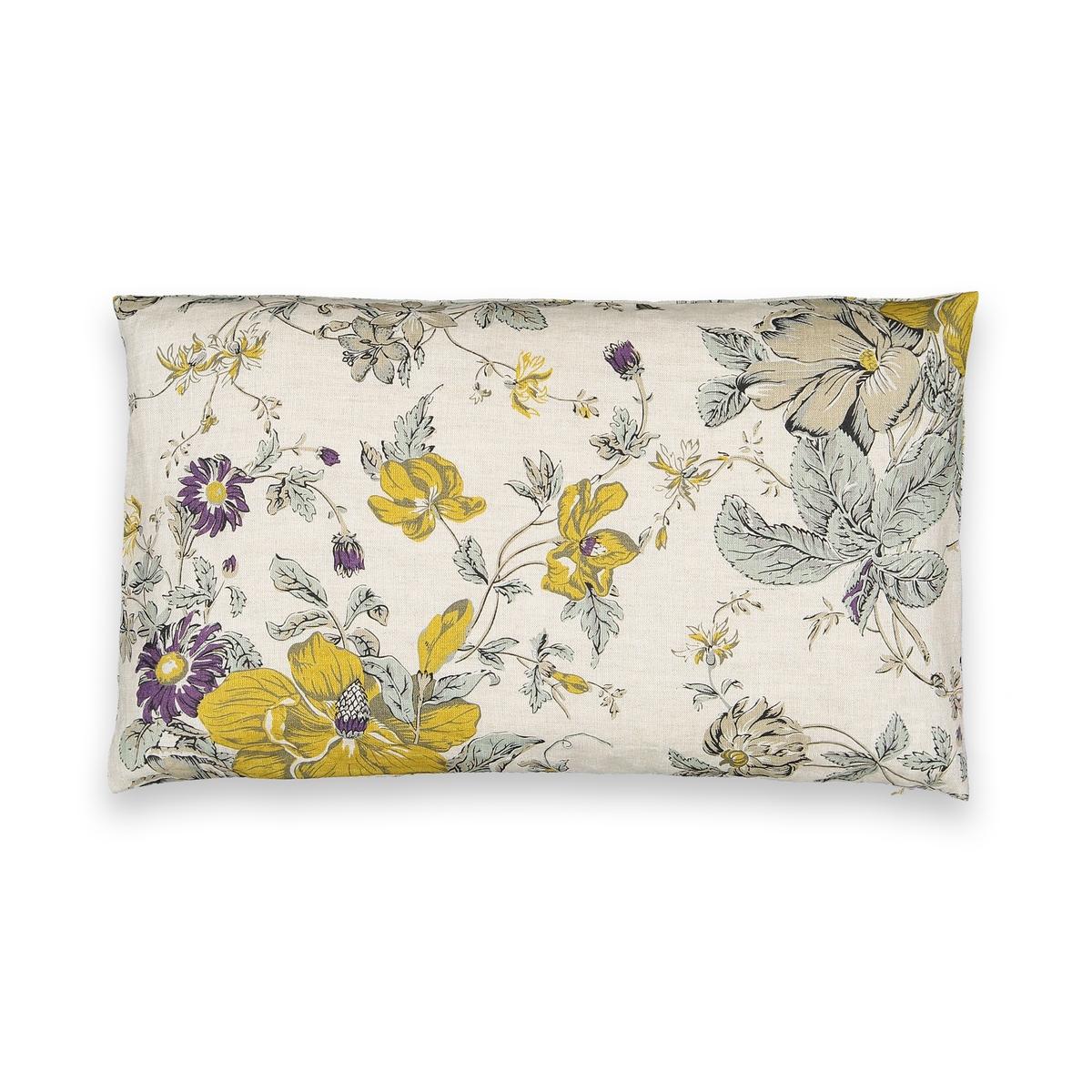 Чехол La Redoute Для подушки из льна Alizou 50 x 30 см белый чехол для подушки из шерсти osia