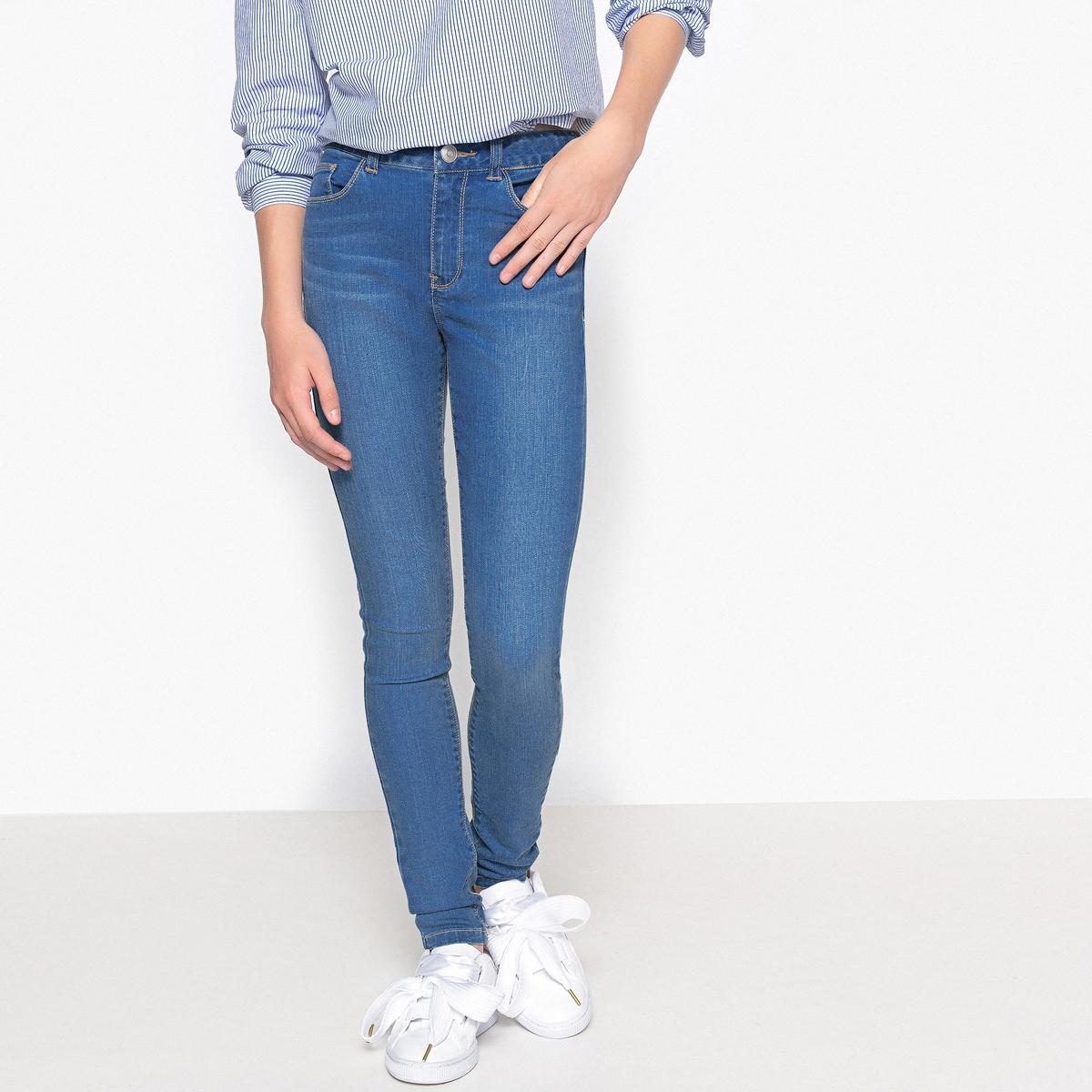 Джинсы La Redoute Супер скинни 10 синий джинсы супер райфл купить